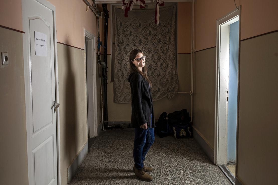 """Balogh Hajnalka a Menedékház Alapítványtól. """"Korábban én is annyit tudtam a hajléktalanokról, mint bárki más, aki sétál az utcán és látja őket"""""""