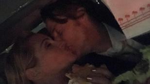 Julia Roberts hamburgerrel és egy csókkal ünnepelte, hogy nem nyert a Golden Globe-on