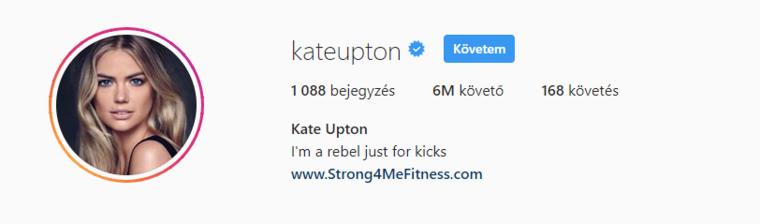 De nézzünk pár olyan ember, aki a magyar modellhez hasonlóan a húszas éveiben jár! Kate Upton 26 esztendős, egy évvel idősebb Palvinnál és 4 millió követővel szegényebb.