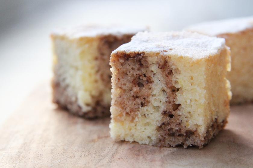 Vaníliás-kakaós, kevert süti: hihetetlenül egyszerű, de nagyon finom