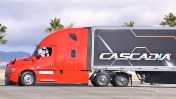 Egy vagyont költ önvezető kamionra a Mercedes