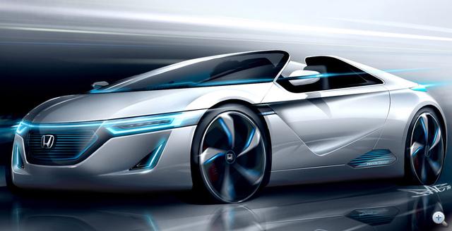 Totalcar - Magazin - Dögös kétüléses Honda sportkocsi e0b14eede8