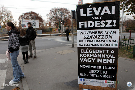 Lévai Katalin kampánya