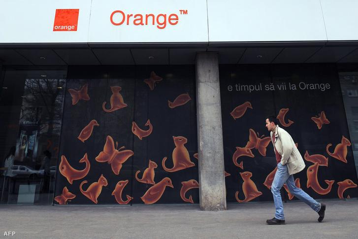 Az Orange bukaresti székháza.