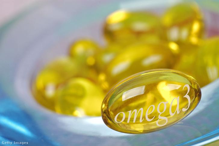 Omega-3 étrend kiegészítő kapszula