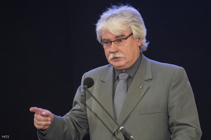 Szakály Sándor a Veritas Történetkutató Intézet főigazgatója 2018. november 27-én.