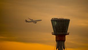 Drón miatt leálltították a londoni Heathrow repteret
