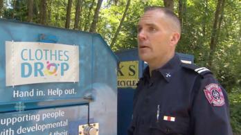 Adománygyűjtő konténerbe szorult, meghalt egy nő Kanadában