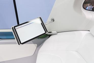 Tablet, amin a felhasználó a saját felhő alapú szolgáltatásait azonnal el tudja érni.