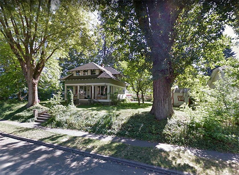 Sharalee háza előtt egy 110 éves nyárfa állt, ami az utóbbi időben teljesen kiszáradt, így egyértelművé vált, hogy ki kell vágni.