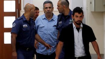 Az ellenségnek kémkedett az izraeli miniszter, 11 évet kapott