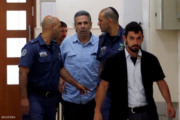 Gonen Segev a bíróságon 2018. július 5-én