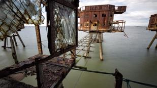 A II. világháborús tengeri erődökből kalózrádiók sugároztak