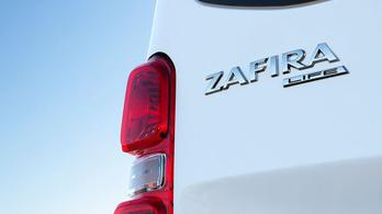 Íme, az új Opel Zafira