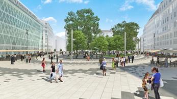 Milliárdokból újítják fel a Vörösmarty teret és a Podmaniczky teret