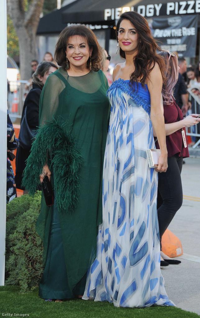 Így néz ki Amal Clooney gyönyörű édesanyja, Baria Alamuddin.