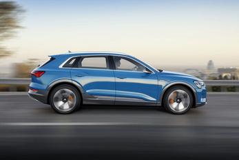 Csúszik az elektromos Audi szállítása