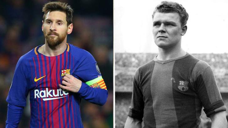 Messi és magyar elődje, Kubala László