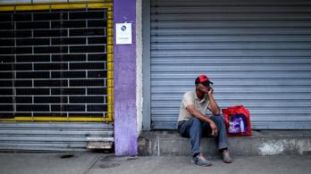 1,7 millió százalék volt az infláció tavaly Venezuelában
