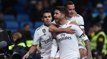 Sergio Ramos belőtte a 100.-at, kicsit helyre rázta a Realt