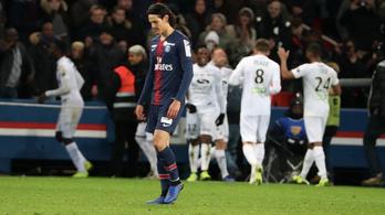 A tök utolsó Guingamp kiverte a PSG-t, ráadásul Párizsban, ráadásul minden sztár játszott