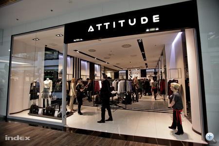 Az Attitude üzlete