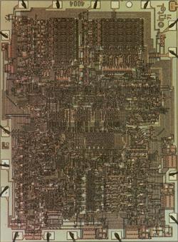 Intel 4004-es processzor