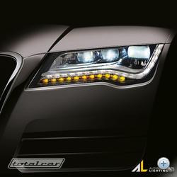 Tisztán LED technológiás lámpatest az Audi A7-ben