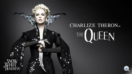 A gonosz királynőt Charlize Theron is eljátssza majd, csak egy másik filmben