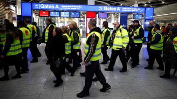 Több száz járatot töröltek a német reptéri sztrájkok miatt
