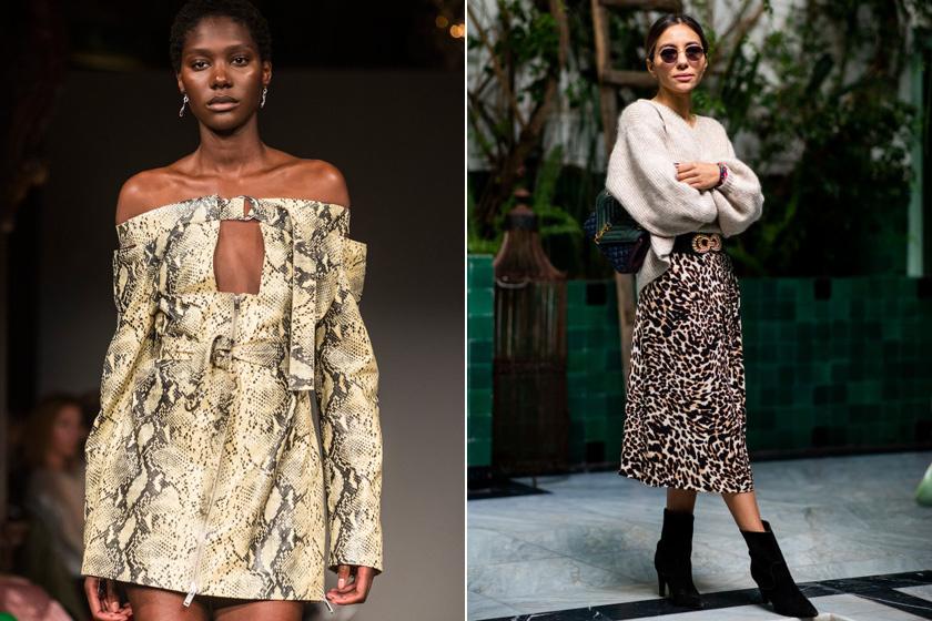 A vad állatminta a '90-es évek nagy kedvence volt, és már tavaly is újra felbukkant a divatban, idén pedig még népszerűbb lesz. A tavaszi-nyári divatban egyértelműen ez az uralkodó trend.