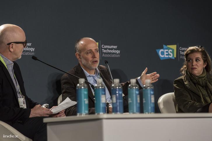 Massimo Martinotti, az Italdesign mobilitási megoldások részlegének vezetője