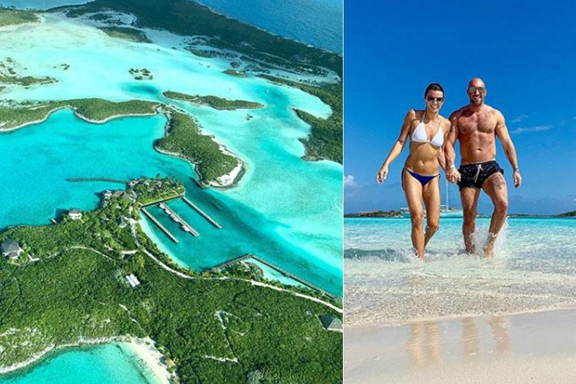 Berki Krisztián és Mazsi a Bahamákon töltöttek el néhány csodás napot az év elején.