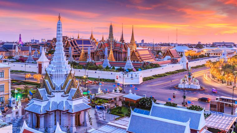 Bangkok szintén élen jár az étterem-látogatásokban, de nem vetik meg az utcákon árult ételeket sem, évente negyvenkétszer esznek street foodot a műfaj fővárosában.