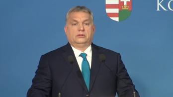 Orbán Viktor tartotta az idei első kormányinfót - vágatlan videó