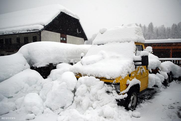 Goestling hó alatt