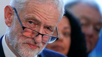 A brit kormány elleni bizalmatlansági eljárást indítványozna Jeremy Corbyn