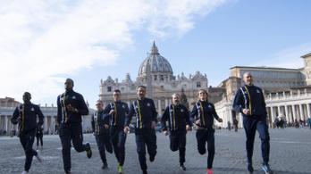 A Vatikán futócsapattal célozza meg az olimpiát