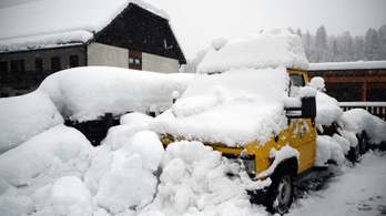 Tovább nőtt az európai havazások halálos áldozatainak száma