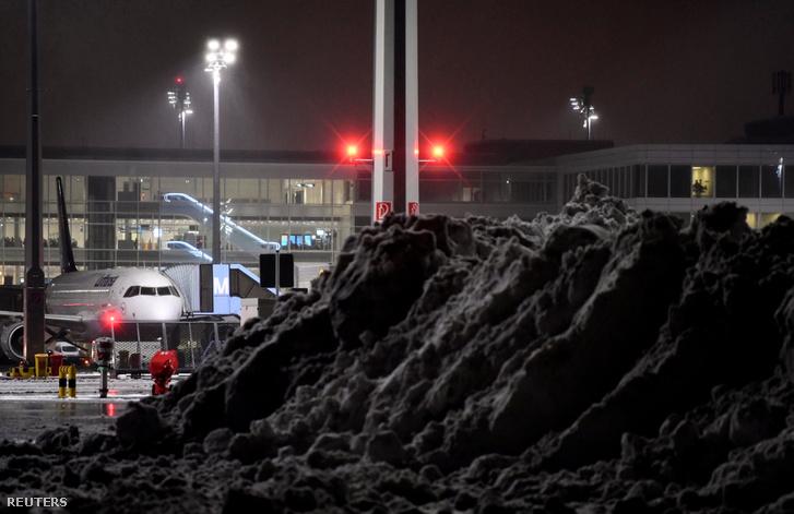 A müncheni repülőtér január 5-én