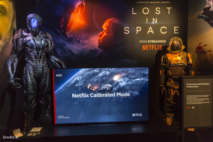 Sony tévé Netflixre kalibrált módban