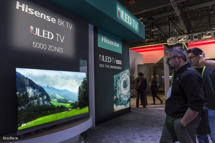 Hisense 8K ULED TV 7680*4320 felbontásban