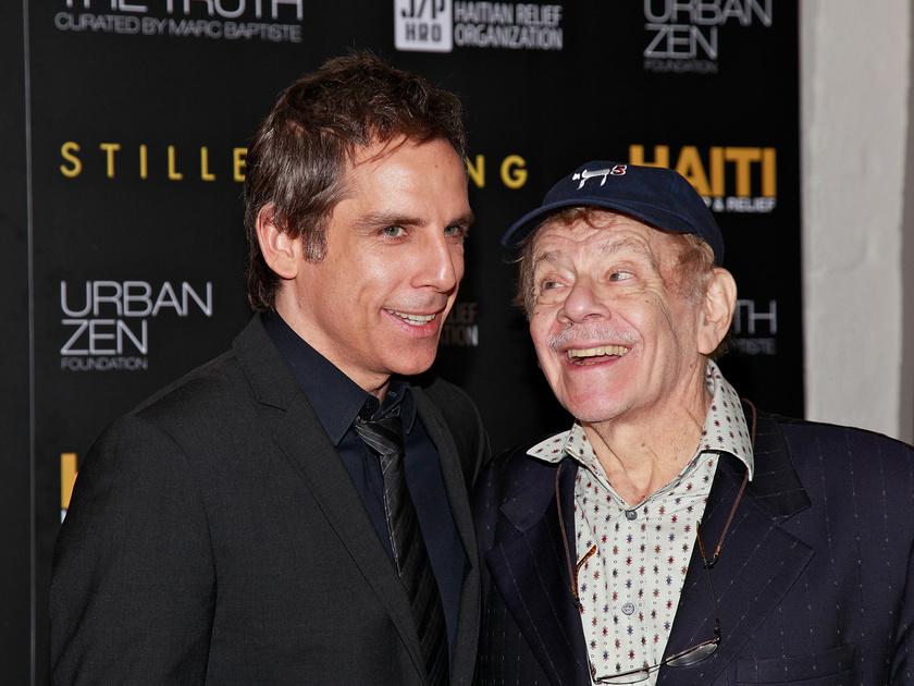 Jerry Stiller a fiával, Ben Stillerrel.
