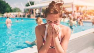Miért fáj annyira, amikor strandoláskor az orrodba megy a víz?
