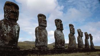 Kiderült a húsvét-szigeti óriási szoborfejek titka