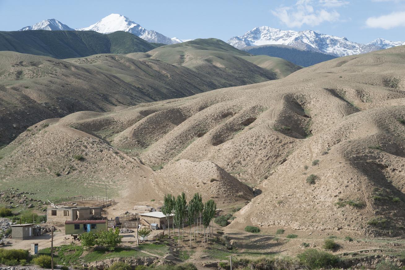 kirgizisztán fotó tájkép ázsia