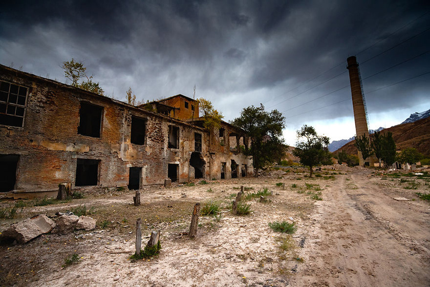 A hegyek közt fekvő Mingh Kush volt a Szovjetunió legnagyobb urániumkitermelője.