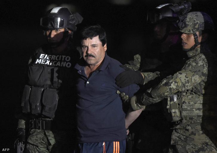 "Joaquin ""El Chapo"" Guzman elfogása 2018. január 8-án"