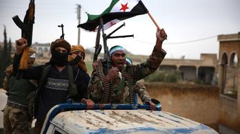 Dzsihadisták vették át a hatalmat Erdoğan embereitől