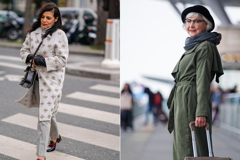 Hogy érdemes öltözködni télen 50 felett? Nőies, divatos, mégis elegáns összeállításokat mutatunk